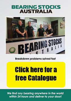 Bearing Stocks Australia Brochure